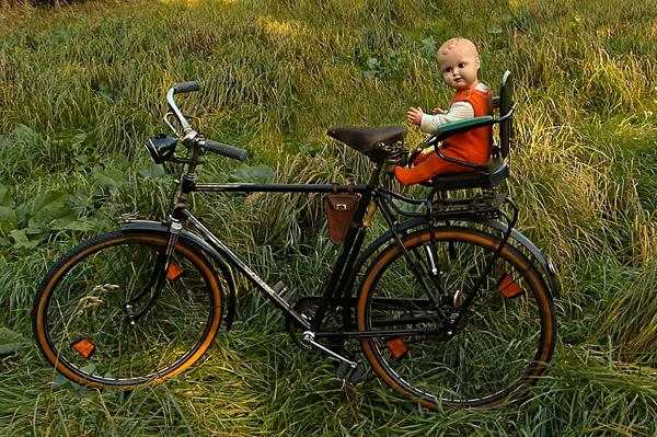 Foteliki rowerowe bobike