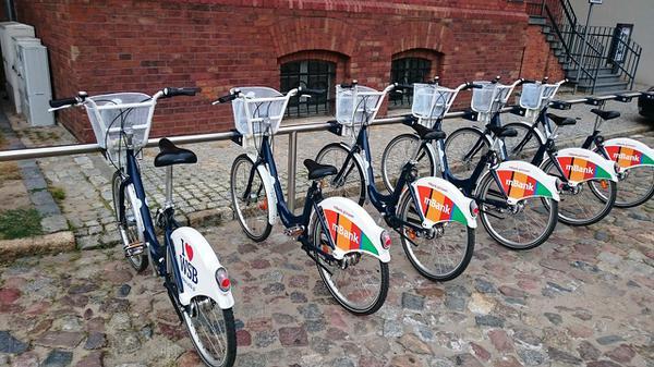 bagażniki rowerowe przednie